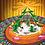 Thumbnail: Lustiges Schneemanntreiben  2015 Weihnachts-Grußkarte