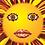 Thumbnail: SUNSHINE Design-Grußkarte