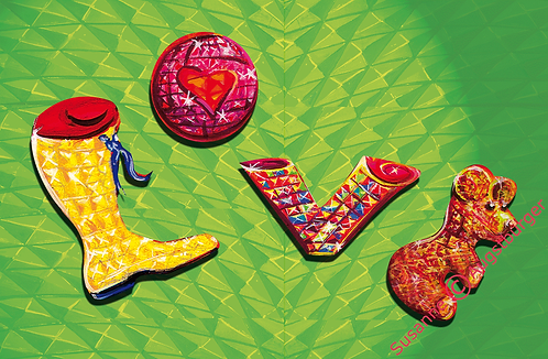 LOVE Design-Grußkarte