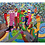 """Thumbnail: """"Laufsteg"""" 2015 Kunstkarte handsigniert"""
