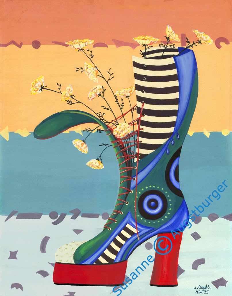 Blütenzart auf Plateau 1995