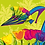 Thumbnail: TULIPS Design-Grußkarte