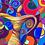 Thumbnail: Fine Art Print gerahmt   Zwilling - VERBUNDENHEIT
