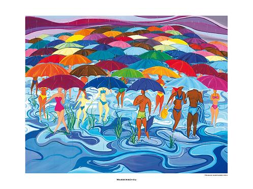 """""""Wasserscheu"""" 2004 - Fine Art Print"""