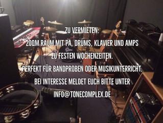 Vermietung Proberaum / Unterrichtsraum in Kiel