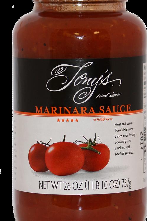 Tony's Marinara Sauce