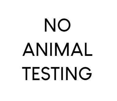Aucun test sur animaux