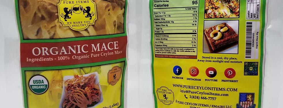 USDA Organic Mace Whole 30g