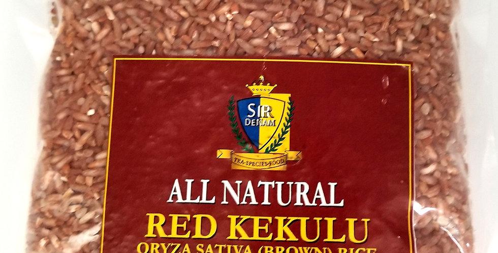 Red Kekulu - Oryza Sativa (Brown) Rice 500g (1.10 lb)