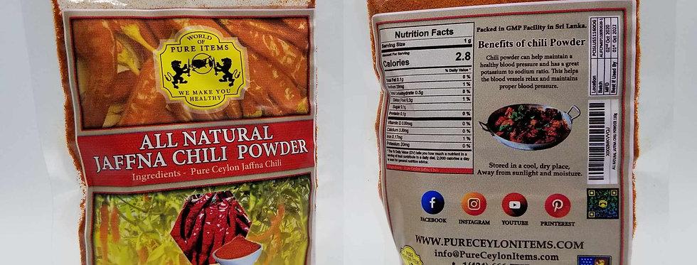 All Natural-Sri Lanka Jaffna Chili Powder 110g