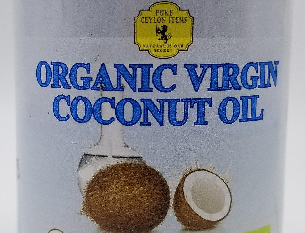 Organic Virgin Coconut Oil 16.9 FL.OZ (500ml) GMO-FREE
