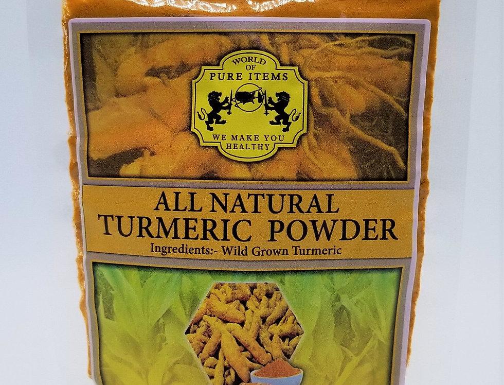 All Natural-Sri Lanka Turmeric Powder NET WT100g (3.5 oz)