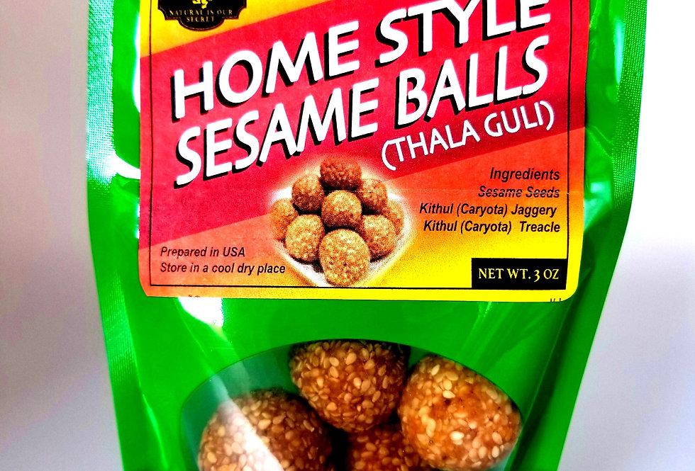All Natural Home Style Sesame Balls (Thala Guli)    5 .0 OZ