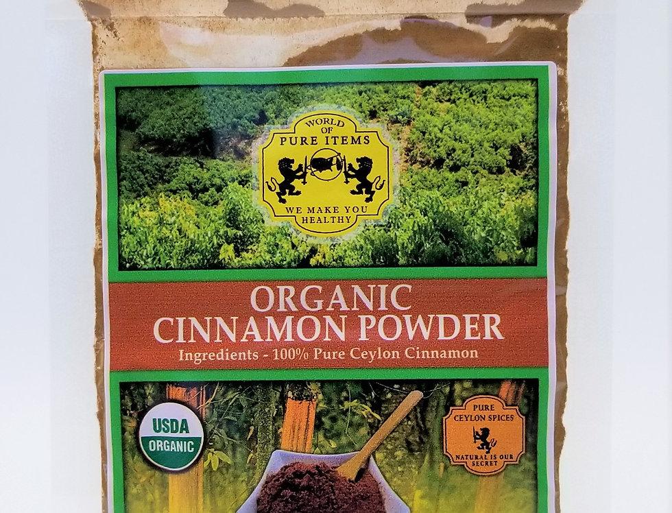 Organic Ceylon Cinnamon Powder - 50g (C5)