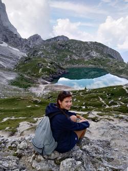 Lago del Coldai - Dolomiti-Martina