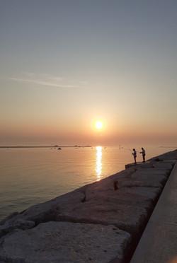 Pescatori all'alba-Sottomarina-Stefano