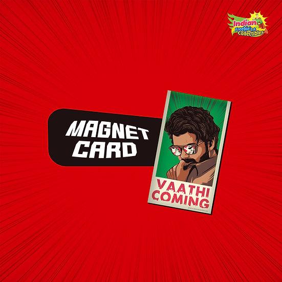 Master Vaathi Coming Fridge Magnet | Thalapathy Vijay