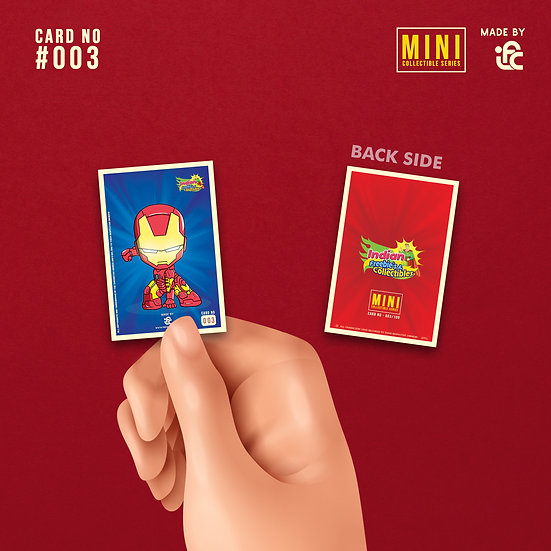 Chibi Ironman Collectible Card by IFC