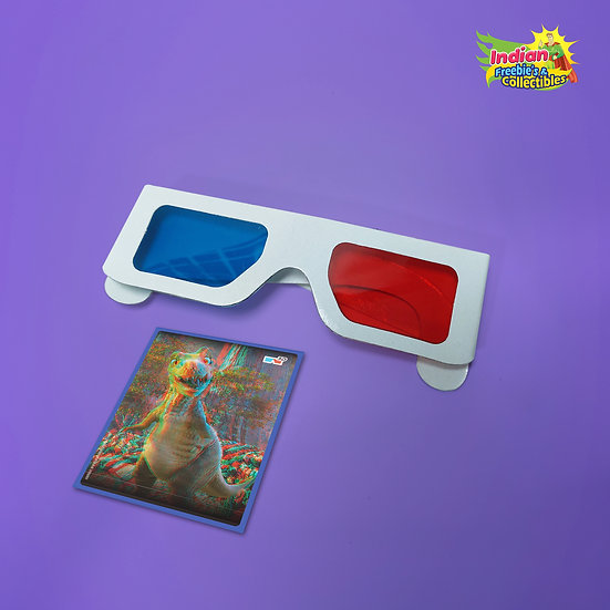 90's Kids Memories | 3D Glass with Free Card  | 90's Toys