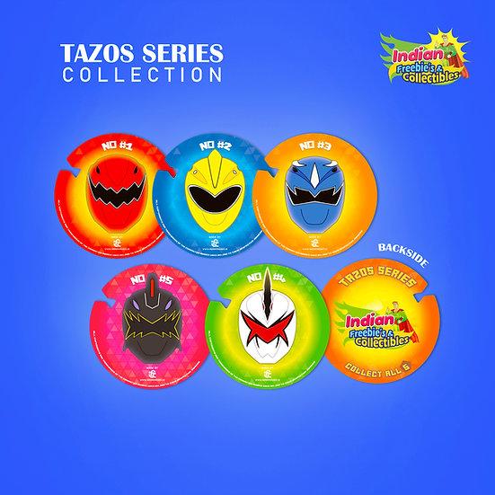 Power Rangers Tazos by IFC