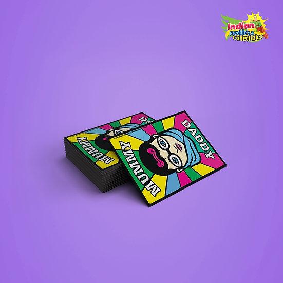 90's Kids Memories | Daddy Mummy Card  | 90's Toys