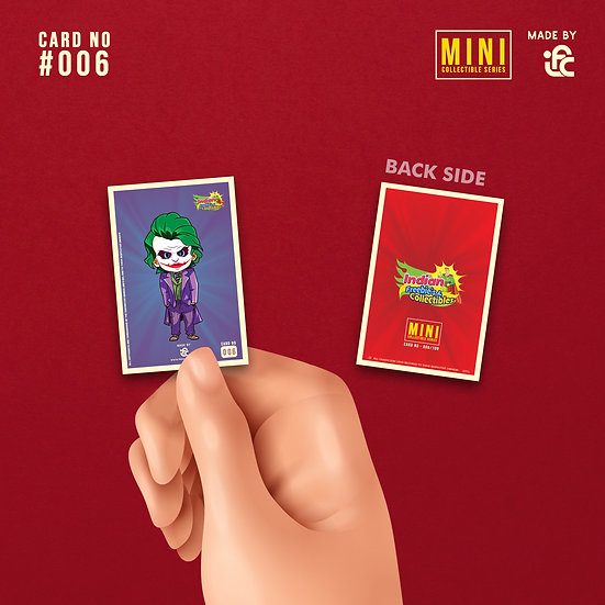 DC Joker Collectible Card by IFC