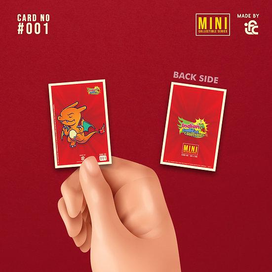 Charizard Pokemon Mini Collectible Card by IFC