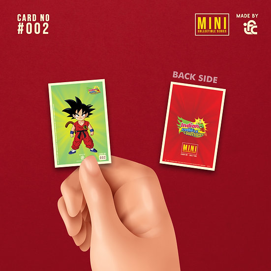 Goku Mini Collectible Card by IFC