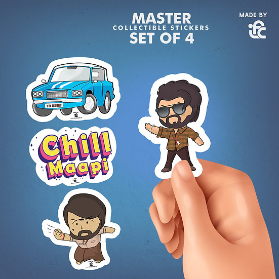 Master Movie Collectible Stickers by IFC