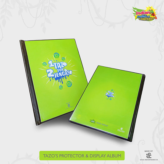 1 Tazo for 2 Jengas - 200 Pockets Tazos Holder Album