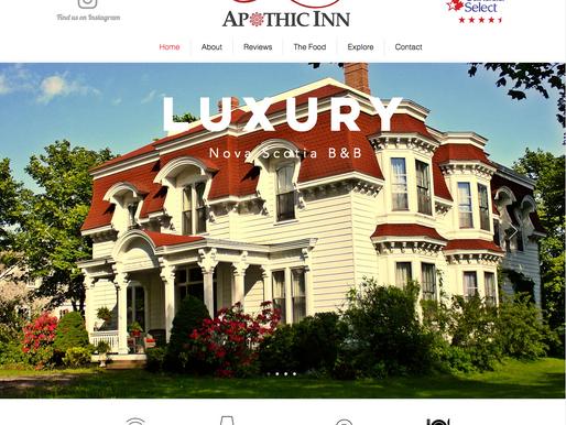 Apothic Inn Webpage