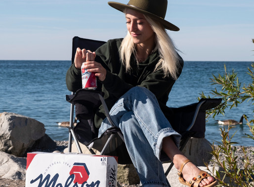 Molson Influencer campaign shoot