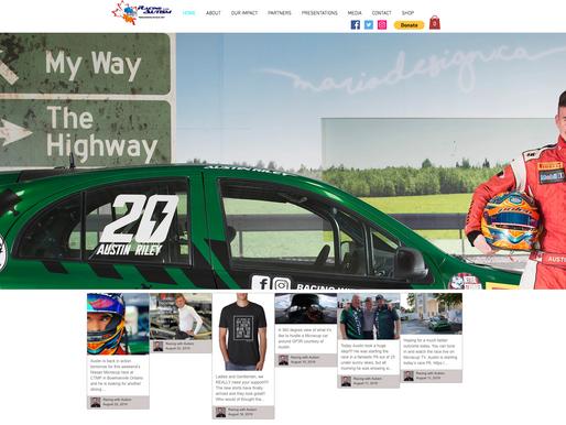 Racing With Autism Webpage