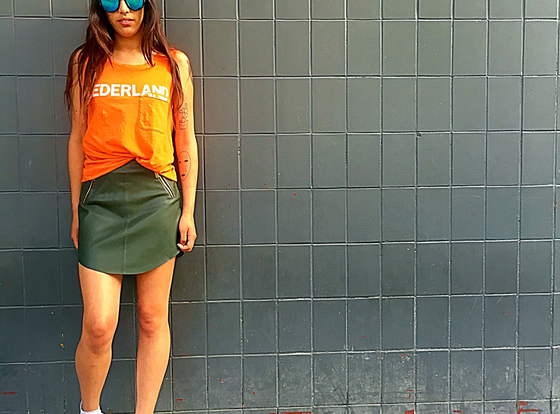 Edgy and Sporty