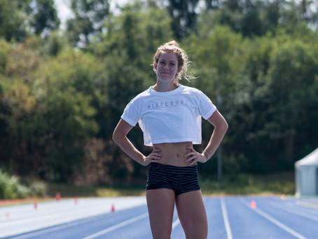 Femke zit in de flow: twee keer Nederlands record verbeterd