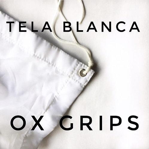 Tela Blanca/Negra Reversible de 2,40 x 2,40 cm