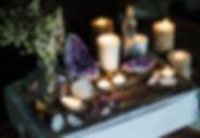 Mystical Altar Amethyst Candles.jpg