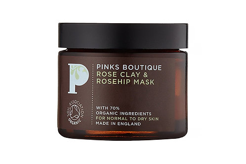 Rose Clay & Rosehip Mask 60g