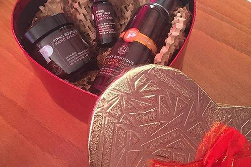 Heart Shape Moisturising Gift Set