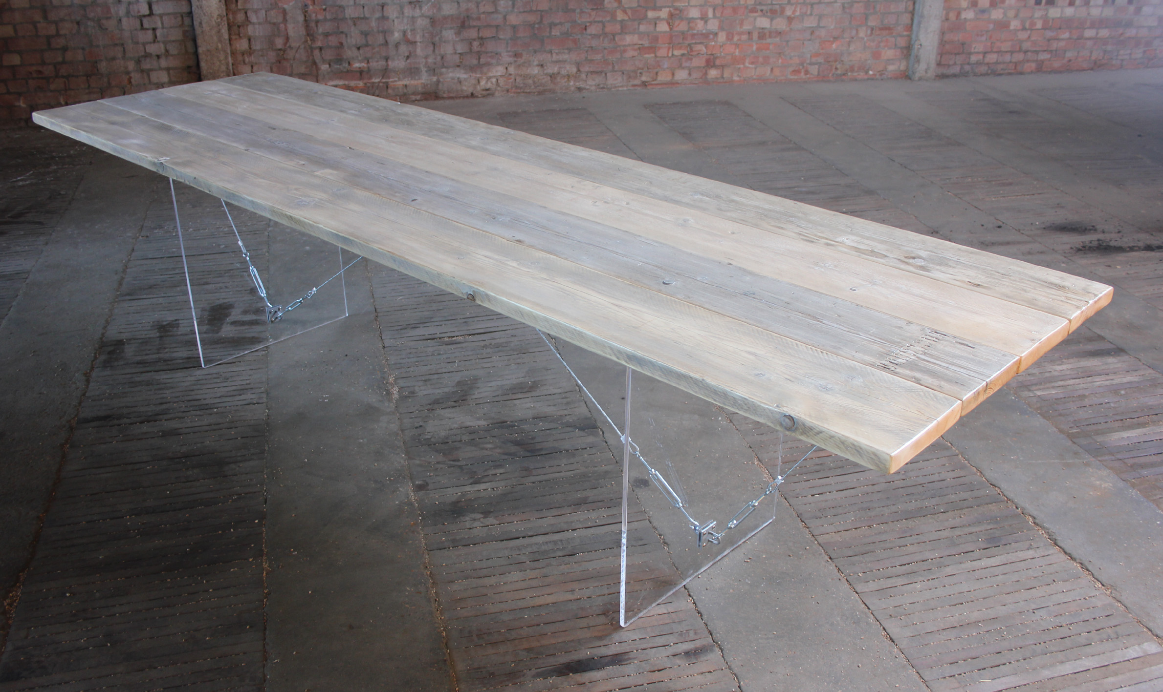 Scaffold board table
