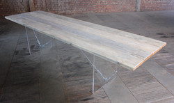 Scaffold board table