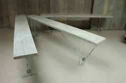 Table to benches