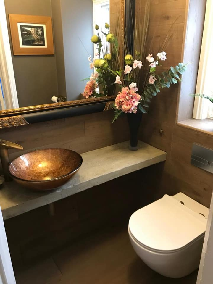 Downstairs toilet - refurbished