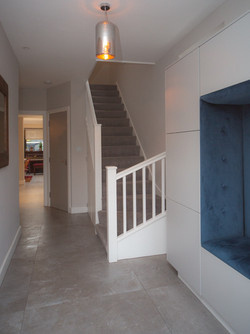 Entrance hall and stairs