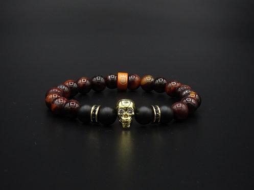 "Aura bracelet ""The Black Pearl"""