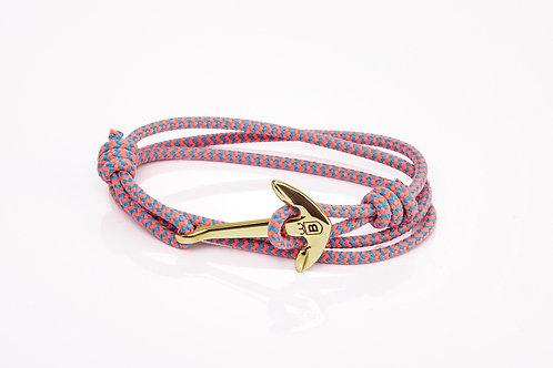 Pink Anchor Bracelet