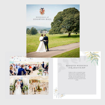 ebrochure for Wedding Venue