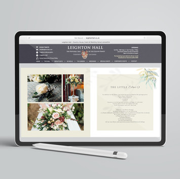 ebrochure for micro-weddings
