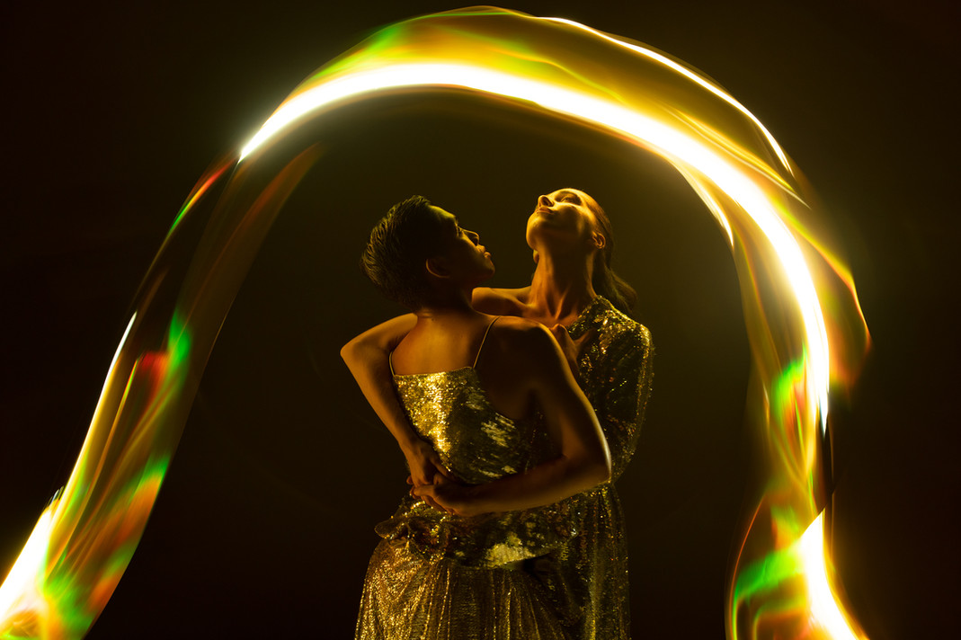 Light Painting with Ralph Escamillan and Daria Mikhaylyuk