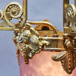 David Szarka Art Deco Leuchter